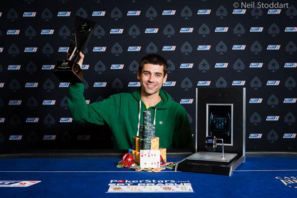 Stephen Graner gagne l'EPT de Prague